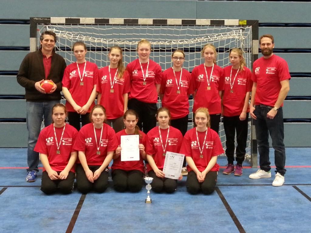 Landesfinale Handball Mädchen WK III