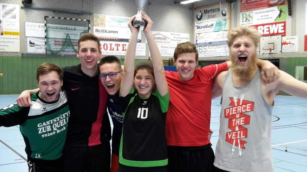 Volleyball 1. Platz
