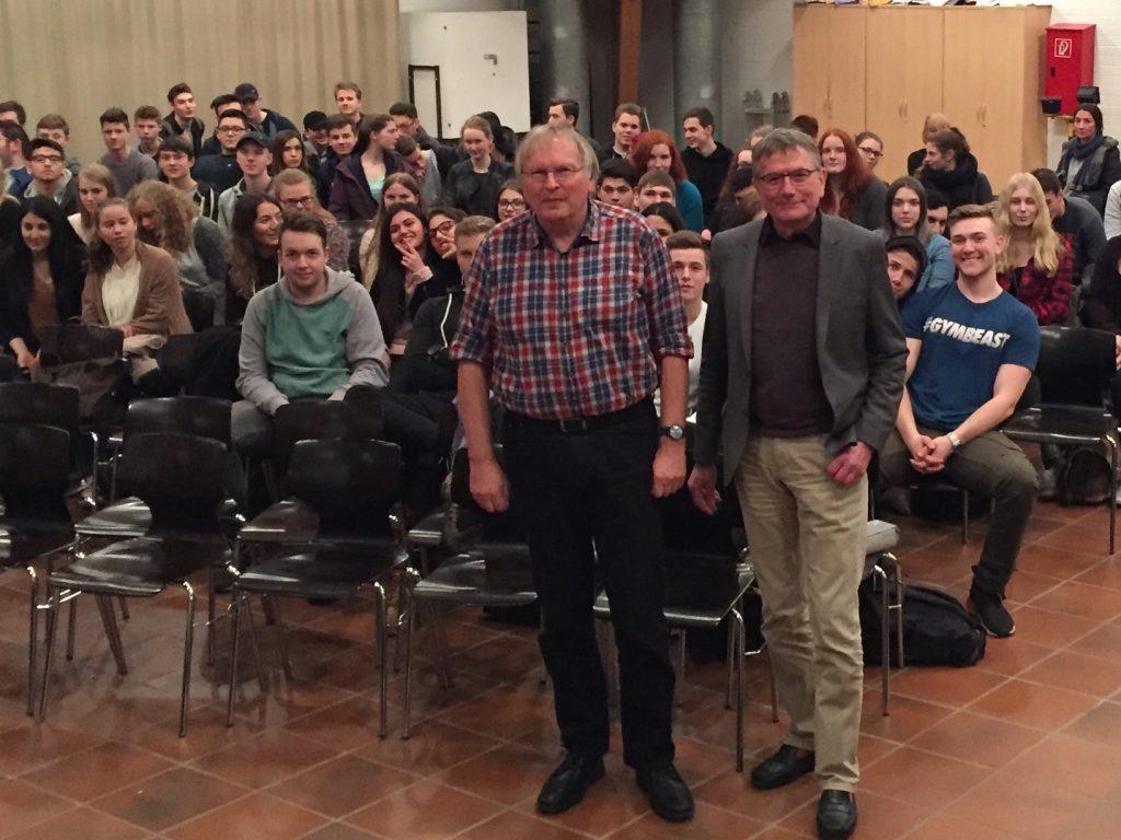 Jörg Armbruster und Rudolf Blauth