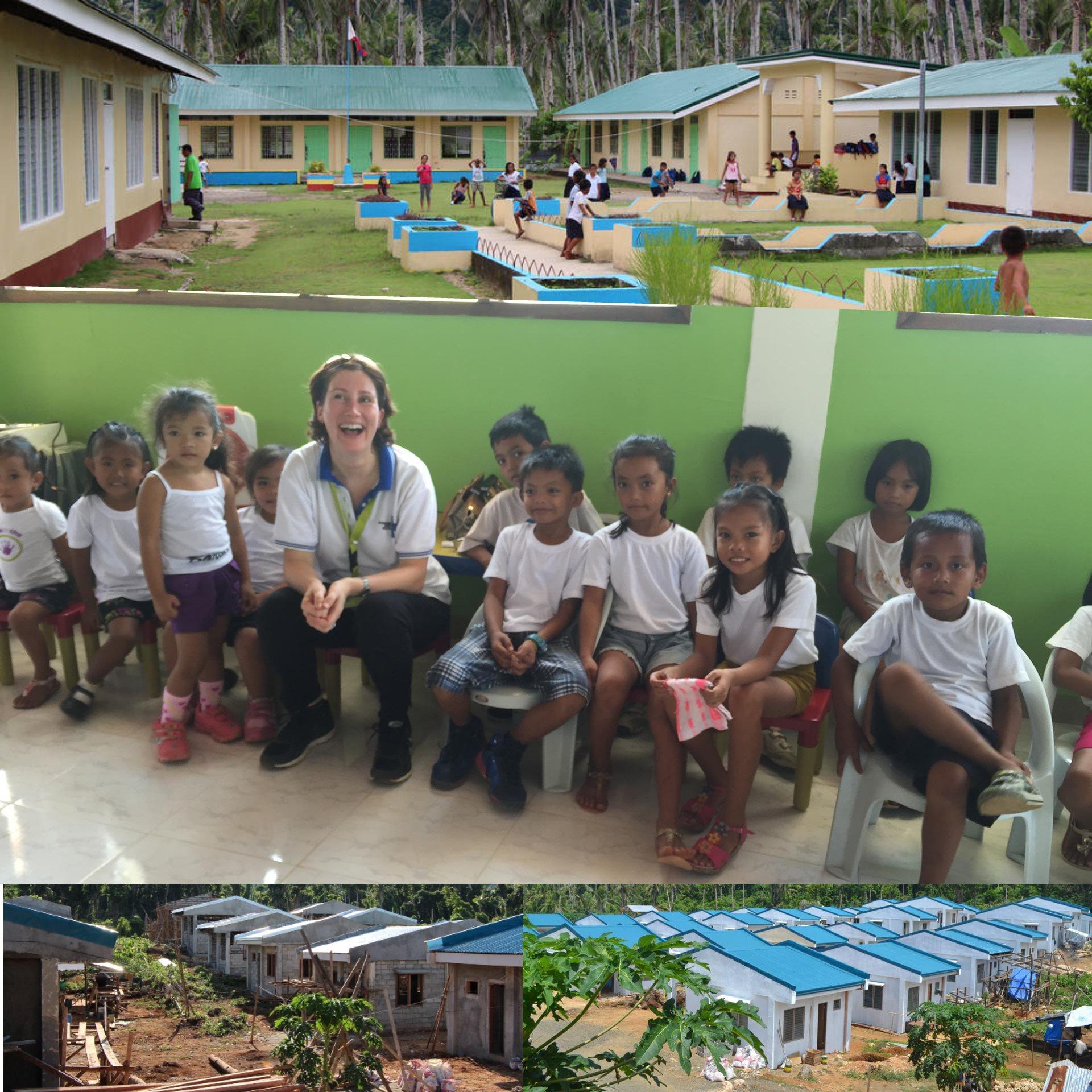 Humanitäre Schule und das humanitäre Projekt